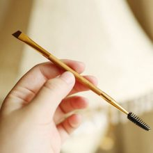 Double End Makeup Bamboo Brush