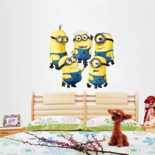 Minions Wall Stickers for Kids Room Decoration