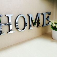 Home Decoration English 3D Letters