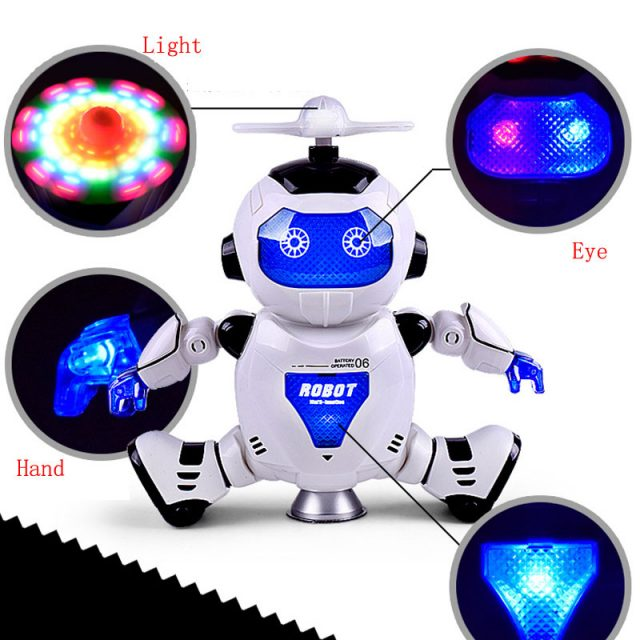 360 Rotating Dancer Robot Toy