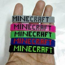 Silicone Sport Minecraft Bracelet