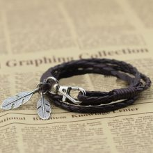 Fashion Leather Bracelet for Men